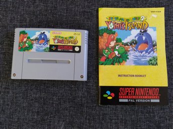 Super Mario World 2: Yoshi's Island, SNES/Super Nintendo PAL