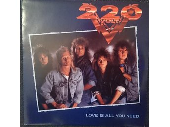 "220 Volt ""Love is all you need"",  svensk hårdrock"