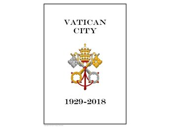 VATICAN CITY 1929 - 2018 PDF (DIGITAL) STAMP ALBUM PAGES INGA FRIMÄRKEN!!!