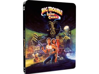 Big Trouble in Little China - Limited Edition Steelbook Blu-ray