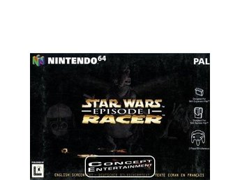 STAR WARS - EPISODE 1 RACER till Nintendo 64, N64