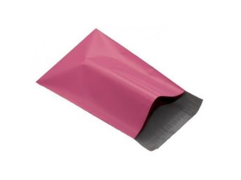 200 Rosa Mailing Bags 250 x 350mm-mailingbags