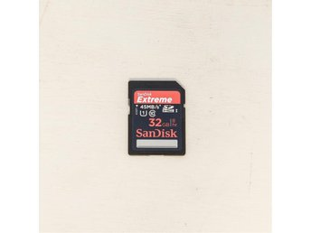 SanDisk 32GB Extreme 45MB/s SDHC