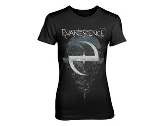 EVANESCENCE SPACE MAP T-Shirt, Kvinnor - X-Large