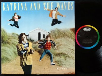 KATRINA AND THE WAVES (M-) – Waves / Vinyl LP Europe '86 / A TOP COPY!!