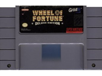 SNES - Wheel of Fortune: Deluxe Edition (USA) (Beg)