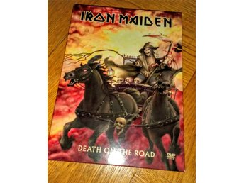 IRON MAIDEN DVD DEATH ON THE ROAD.