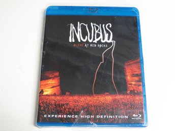 INCUBUS: ALIVE AT RED ROCKS (2-disc Blu-ray) Ny inplastad