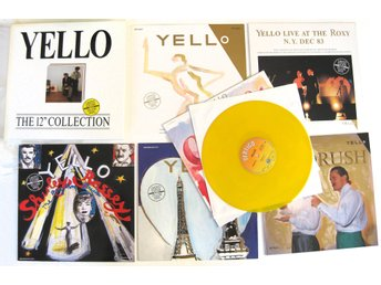 "Yello – The 12"" 6 × 12"" Collection / All in Yellow Vinyl/Ltd edition/Numbered"