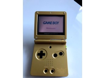 GBA SP Gold Edition