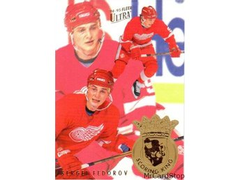 Ultra 1994-95 Scoring Kings 2 Sergei Fedorov Detroit Red Wings