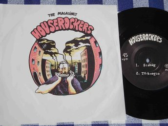 THE MAGASINET HOUSEROCKERS - SLÖHÖG EP 1981