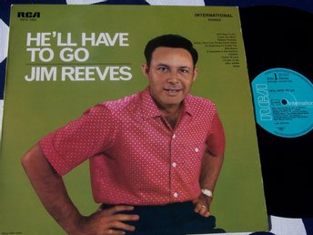JIM REEVES - HE´LL HAVE TO GO LP 1967