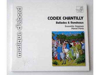 Ensemble Organum / Marcel Pérès ?– Codex Chantilly CD pappersomslag - Enskede - Ensemble Organum / Marcel Pérès ?– Codex Chantilly CD pappersomslag - Enskede