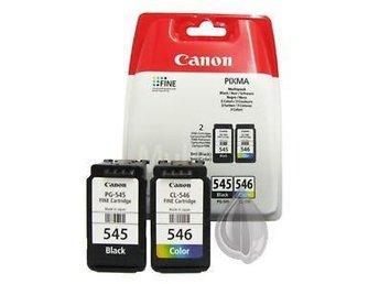 Canon PG-545 / CL-546 2-pack (original Canon) - Malmö - Canon PG-545 / CL-546 2-pack (original Canon) - Malmö