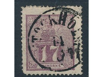 Sweden stamp, 1866 ,  Very good Used Very Fine stamp,