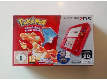 Pokémon Red Version Nintendo 2DS Special Limited Edition i box