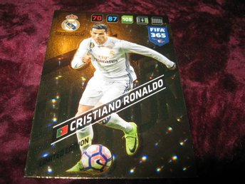 CRISTIANO RONALDO-REAL MADRID-LIMITED EDITION-FIFA 365 2017/2018