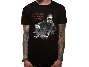 IT - COMING FOR YOU (UNISEX)  T-Shirt - Extra-Large