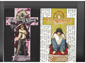 Death Note 1,2,3,4 skick  vf-nm