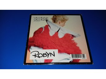 ROBYN - who´s that girl  + FAITHLESS - insomnia  - REA - (cd)