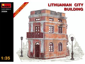 Miniart 1/35 Lithuanian City Building
