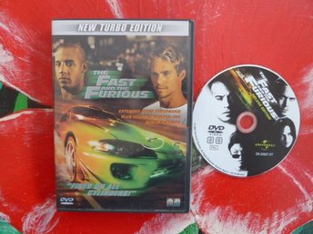THE FAST AND THE FURIOUS, DVD, FILM
