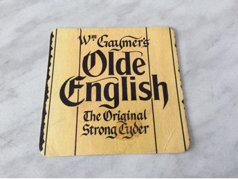 Ölunderlägg  Olde English