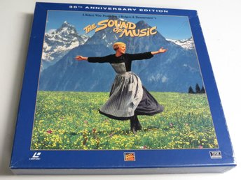 THE SOUND OF MUSIC: 30TH ANN. ED. (Laserdisc) 3-disc box +CD