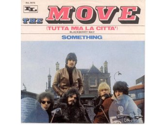 "THE MOVE - Blackberry Way  7"" Singel  Italien"