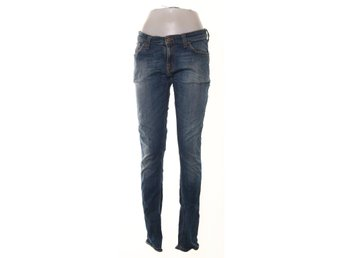 Nudie Jeans, Jeans, Tight Long John, Strl: 29/34, Blå