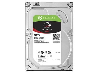 "Seagate IronWolf NAS HDD 3,5"" 3TB, 64MB, 5900RPM"