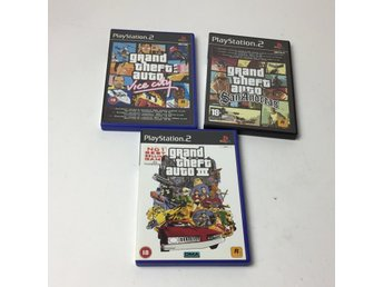 Playstation 2, Playstation 2-spel, 3 st