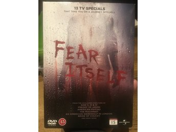 Fear itself 4xdvd 13 skräck filmer box rysare