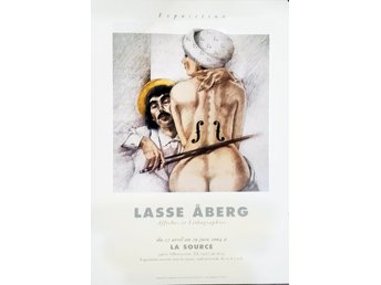 Lasse Åberg; To man Ray