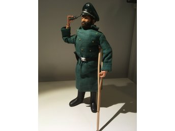 Vintage action man tysk ww2  german soldier  järnkors