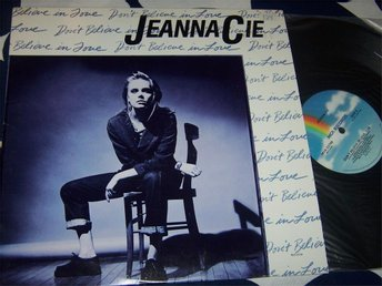 "JEANNA CIE - DON´T BELIVE IN LOVE 12"" 1987"
