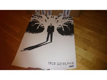 "MONDO ""True Detective (Detective Hart)"" - Jay shaw Hand numbered. Edition of 120"