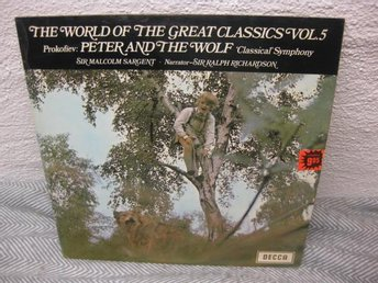 Prokofiev/Sir Malcolm Sargent,Richardson,-Peter And The Wolf - Nyköping - Prokofiev/Sir Malcolm Sargent,Richardson,-Peter And The Wolf - Nyköping