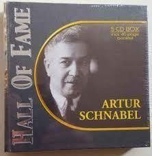 CD - ARTUR SCHNABEL - HALL OF FAME - 5 CD BOX incl. 40 page booklet
