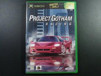Project Gotham Racing till Xbox - EU PAL - Torslanda - Project Gotham Racing till Xbox - EU PAL - Torslanda