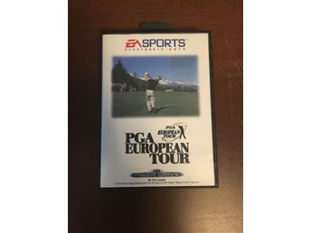 "SEGA Mega Drive EA SPORTS ""PGA european tour"""