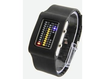 Digital Led klocka/klockor Silicon Led watch Best gift Poland shipping(9090)