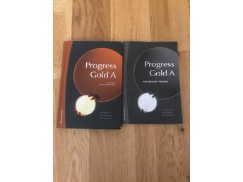 Progress Gold A - Tjärna Alle - Progress Gold A med digetala koden och Progress Gold A vocalabulary Trainer, Be båda nästan ny. - Tjärna Alle