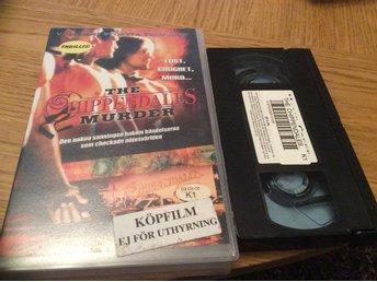 The Chippendales Murder HYR VHS