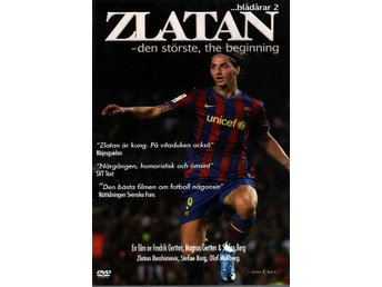 Zlatan The Movie! /DVD 70 min + bonus /NY inplastad <----
