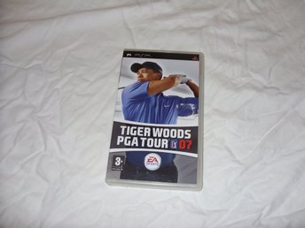 Tiger Woods PGA Tour Golf 07 EA Sports Sony PSP sport spel