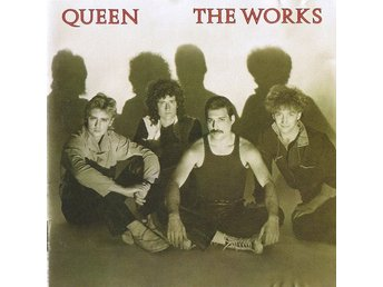 QUEEN-The Works-Rare Cd 1984 Made In Japan-First UK Release-Red Disc-No Barcode