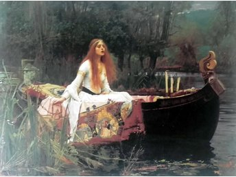 Jungfrun av Shalott- John William Waterhouse