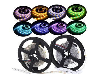 5M Waterproof RGBW RGBWW SMD 5050 LED Flexible Strip Ligh...